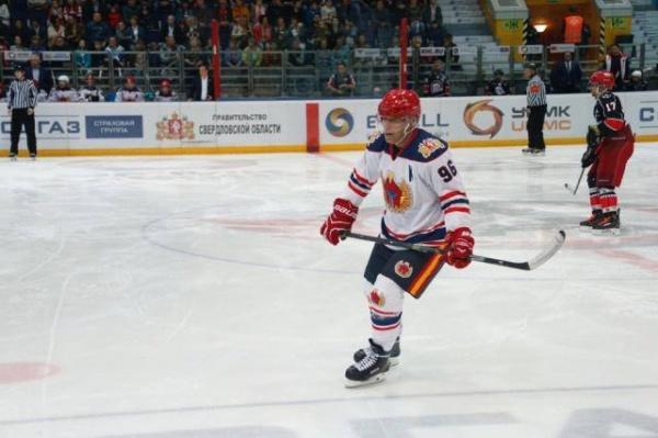 матч всех звезд, Евгений Куйвашев, хоккей|Фото: департамент информационной политики губернатора Свердловской области