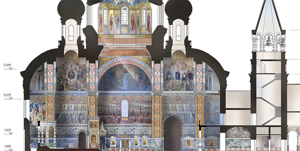 храм-на-воде, храм святой Екатерины, Екатеринбург|Фото: мэрия Екатеринбурга