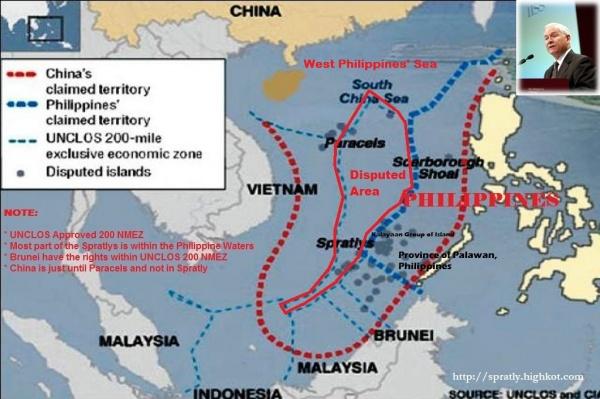 На акваторию ЮКМ претендуют Филиппины и Китай|Фото: koreanewsonline.blogspot.ru