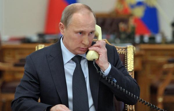 Владимир Путин, телефонный разговор|Фото:http://www.kremlin.ru