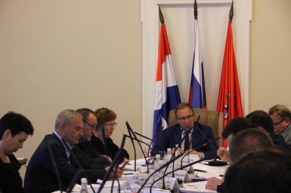 Дмитрий Самойлов, заседание проектного комитета по реализации федеральных приоритетных проектов в Перми|Фото: администрация Перми
