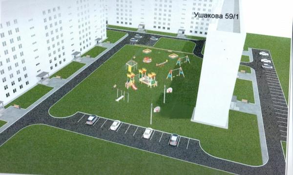 Дизайн проект улицы Ушакова 59|Фото: администрация Перми