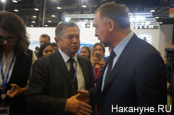 Сергей Глазьев, Олег Дерипаска|Фото: Накануне.RU