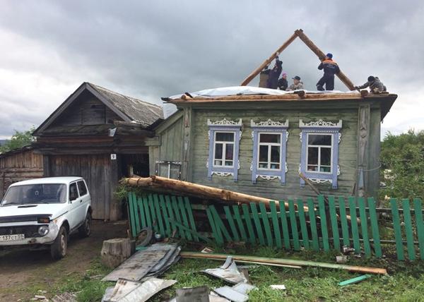 последствия урагана в Нижнем Тагиле|Фото: ГУ МЧС по Свердловской области