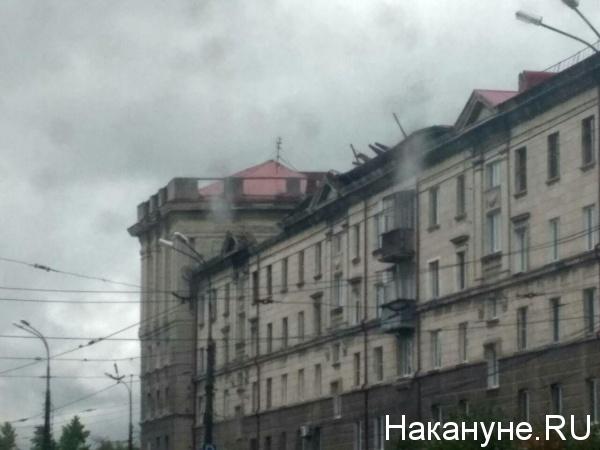 Ленина 73, Нижний Тагил, последствия урагана|Фото: Накануне.RU