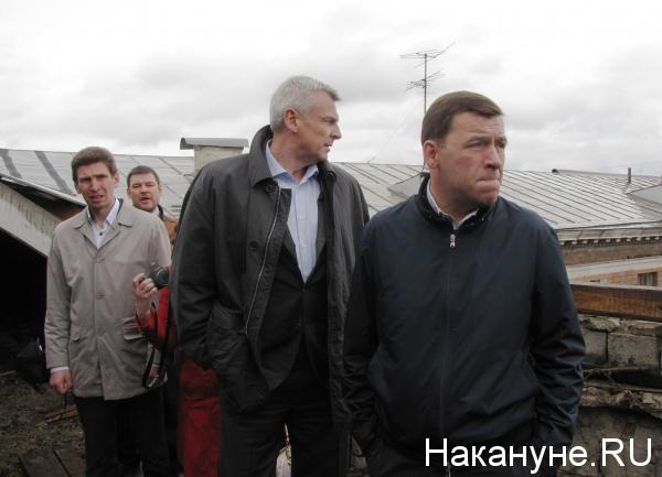 ураган Нижний Тагил, Сергей Носов, Евгений Куйвашев|Фото: Накануне.RU