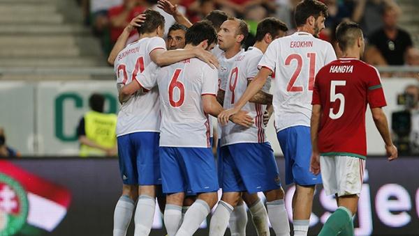 Россия Венгрия футбол|Фото: rfs.ru