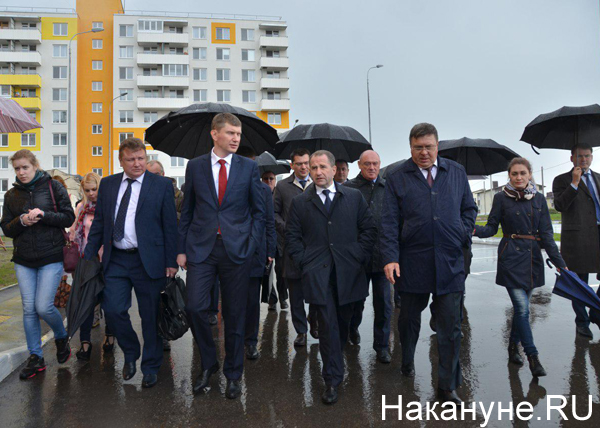 Максим Решетников, Михаил Бабич,  Леонид Ставицкий|Фото: Накануне.RU