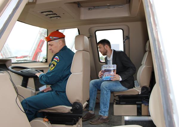 образец гражданского транспортера ПТС-ПС, Омсктрансмаш|Фото: transmash-omsk.ru