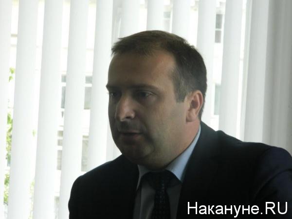 начальник управления транспорта администрации Челябинска Роман Болотов|Фото: Накануне.RU