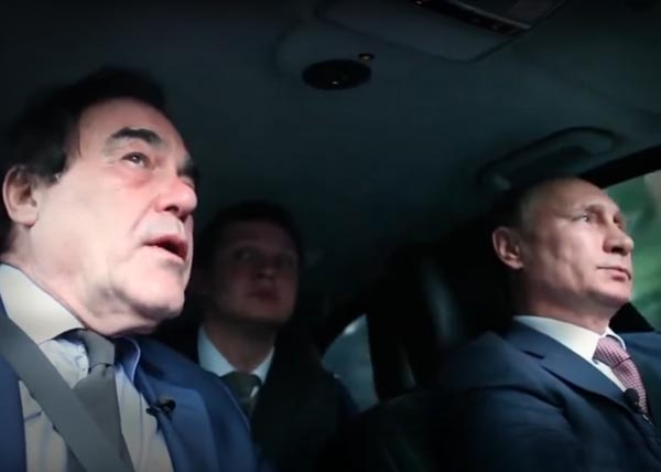 Оливер Стоун, Владимир Путин, интервью, фильм|Фото: youtube.com