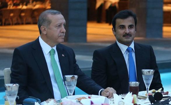Президент Турции Реджеп Эрдоган и эмир Катара Аль-Тани|Фото: https://dohanews.co