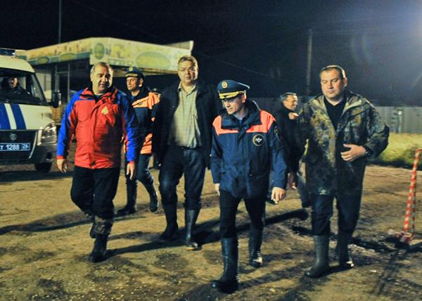 Владимир Владимиров, паводок в Ставрополье Фото: gubernator.stavkray.ru