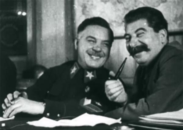 Страна советов, забытые вожди, Климент Ворошилов, Иосиф Сталин, кадр из фильма|Фото: Первый канал
