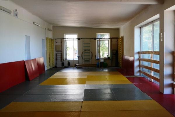 спортзал, школа, алупка Фото:администрация Ялты