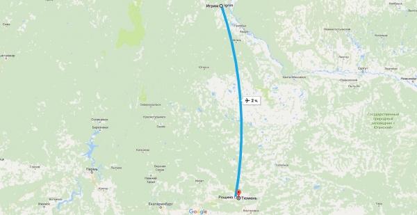 Игрим-Тюмень|Фото: google.ru/maps
