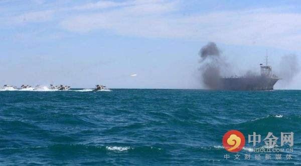Совместные учения ВМС КНР и ИРИ|Фото: http://oil.cngold.com.cn/20170619d1970n156875076.html