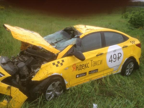 ДТП, автомобиль, Hyundai Solaris, такси|Фото: УГИБДД ГУ МВД России по Свердловской области