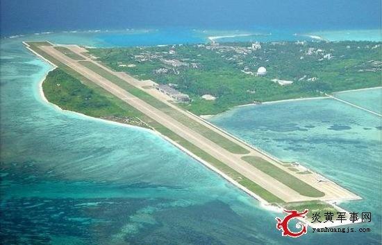 Аэродромы на островах в Южно-Китайском море КНР считает гражданскими, а ПЕнтагон и его союзники - военными(2017) Фото: yanhuangjs.com