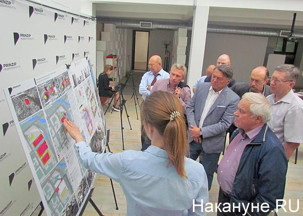 конкурс проектов застройки территории завода Воровского|Фото: Накануне.RU