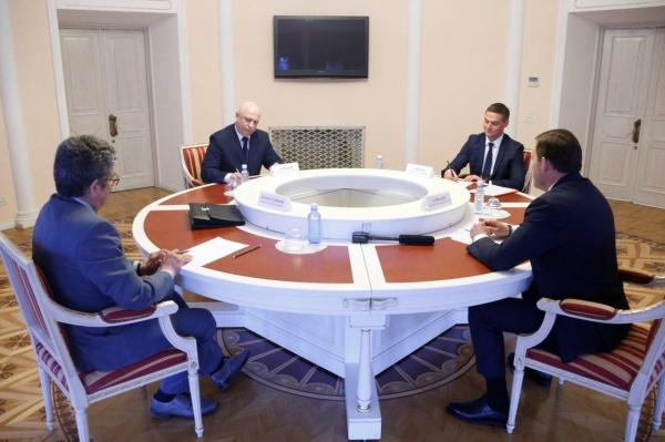 Евгений Куйвашев, Василий Кунский, встреча|Фото: Департамент информационной политики губернатора