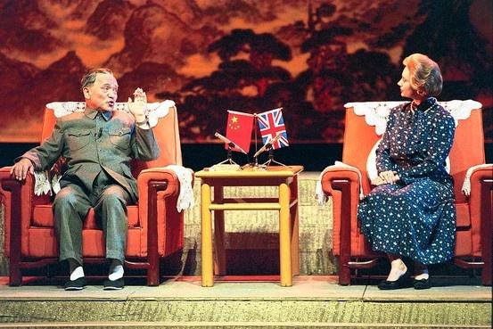 Впрос о порядке передачи Гонконга согласовывался Дэн Сяопином и Маргарет Тэтчер|Фото: wsj.com