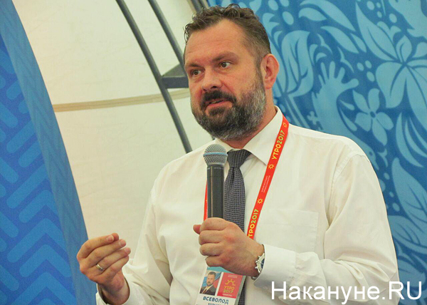 Утро-2017, вице-губернатор ХМАО Всеволод Кольцов Фото: Накануне.RU
