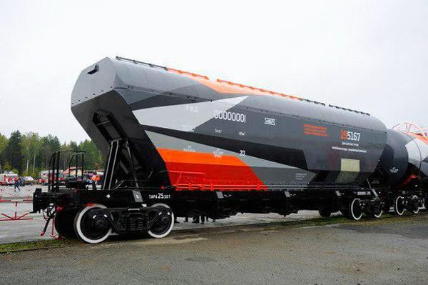 вагон-хоппер для минеральных удобрений, Уралвагонзавод|Фото: УВЗ