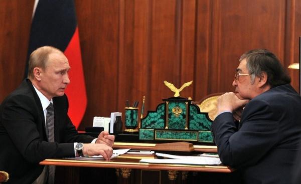 Владимир Путин, Аман Тулеев|Фото: kremlin.ru