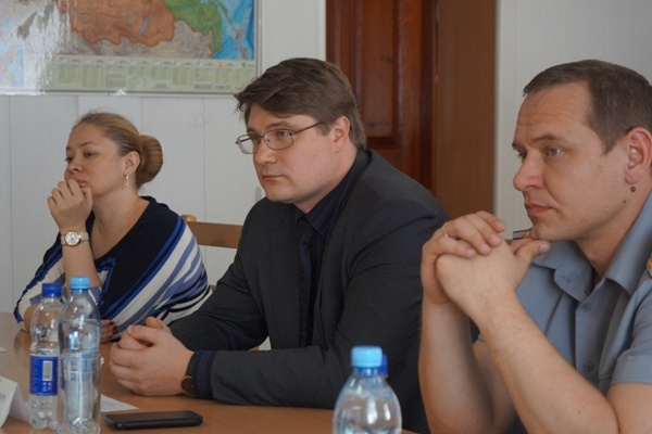 ИК-10, конференция|Фото: ГУФСИН России по СО
