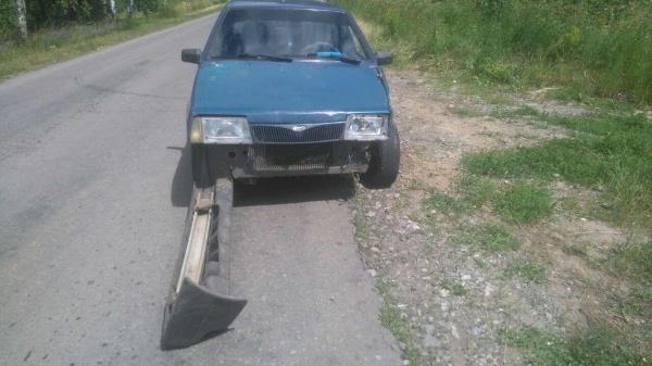 Фото: в Курганской области пьяный водитель устроил ДТП