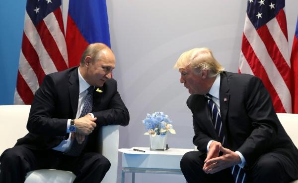 Владимир Путин, Дональд Трамп, встреча, группа двадцати|Фото:http://kremlin.ru/