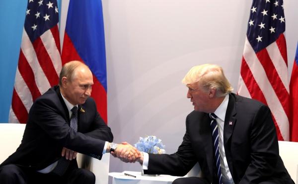 Владимир Путин, Дональд Трамп, встреча, группа двадцати(2017)|Фото:http://kremlin.ru/