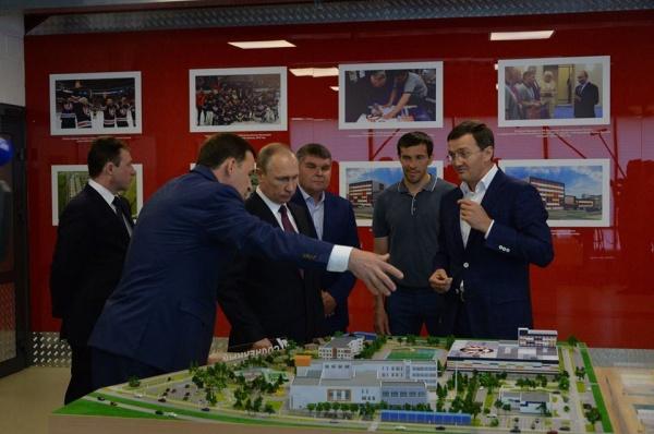 Евгений Куйвашев, Владимир Путин, Павел Дацюк Фото: департамент информационной политики губернатора Свердловской области
