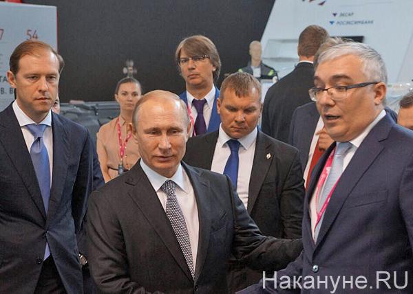 Мантуров, Путин, иннопром|Фото: Накануне.RU