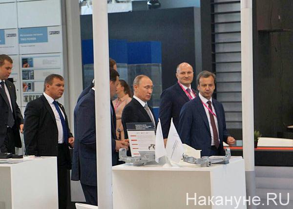 Путин, Дворкович, иннопром Фото: Накануне.RU