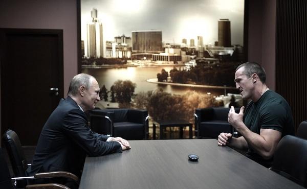 Владимир Путин Денис Лебедев|Фото: пресс-служба президента РФ