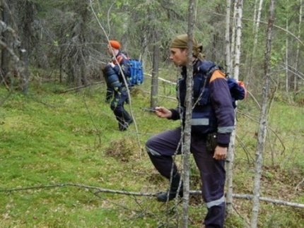спасатели МЧС лес поиски|Фото: ГУ МЧС РФ по Курганской области