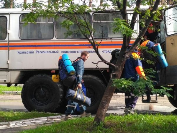 спасатели МЧС лес поиски|Фото: ГУ МЧС РФ по Свердловской области