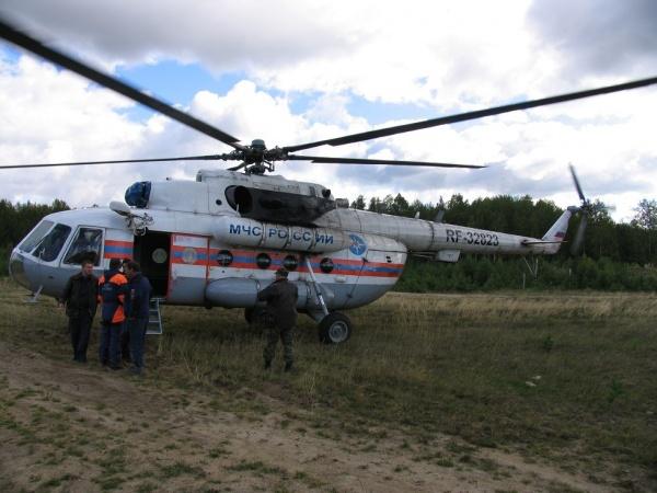 вертолет спасатели МЧС|Фото: СК РФ по Свердловской области