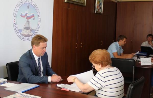Дмитрий Овсянников кандидат в губернаторы Севастополя|Фото: sevastopol.izbirkom.ru