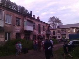 Обрушение дома в Перми (16.7.17) Фото: 59.mchs.gov.ru