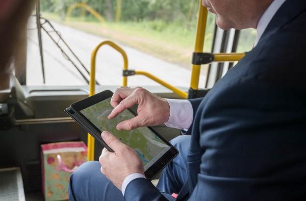 министр транспорта Свердловской области Василий Старков|Фото: Департамент информационной политики губернатора СО