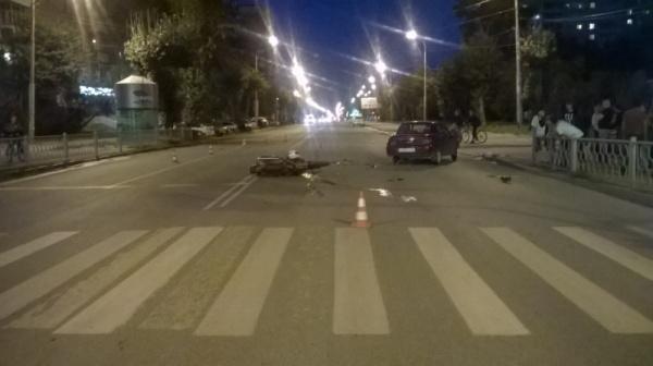 мотоцикл ДТП Екатеринбург|Фото: 66.мвд.рф