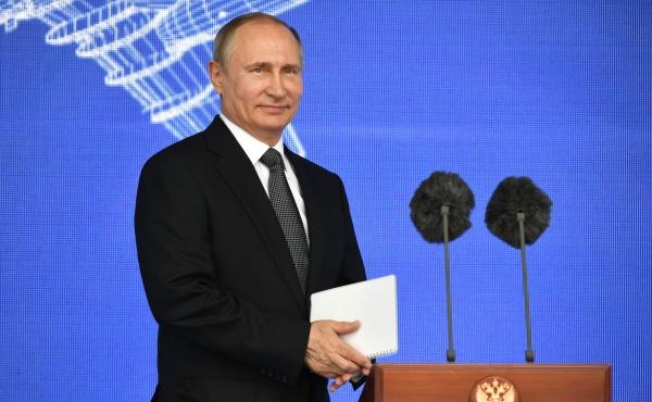 Владимир Путин МАКС-2017|Фото: пресс-служба президента РФ