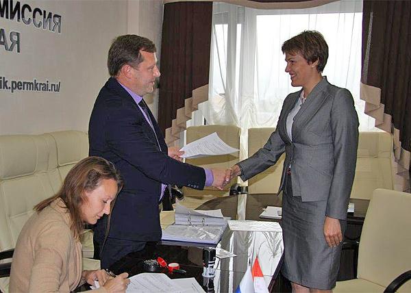 кандидат от КПРФ Ирина Филатова, подписи на выборы губернатора|Фото: избирком Пермского края