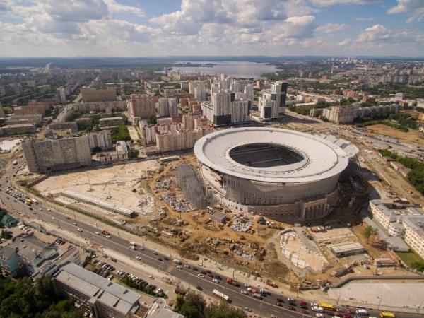 Центральный стадион, Екатеринбург-Арена|Фото: Синара-Девелопмент