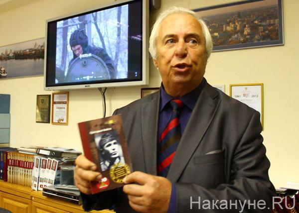 Центр истории Свердловской области, директор Центра Анатолий Кириллов|Фото: Накануне.RU