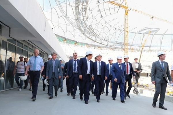 Виталий Мутко Волгоград стадион|Фото: volgograd.ru