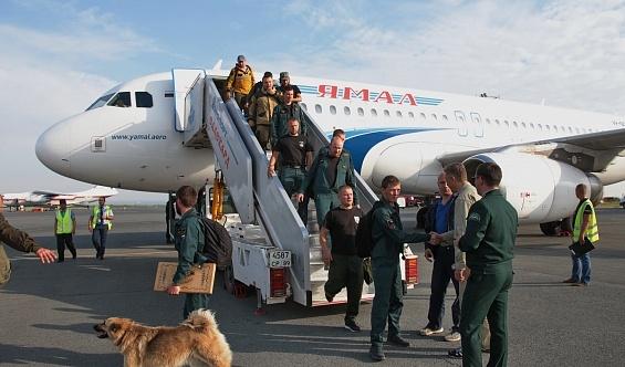 Лесные пожары, Ямал, дополнительные силы Фото: правительство.янао.рф